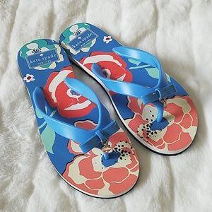 KATE SPADE Flip Flops Sz 6